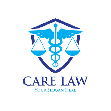 medicine law care logo designs