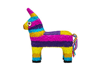 Colorful Pinata, left view