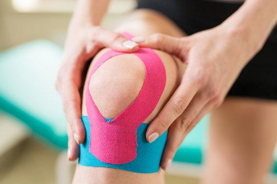Kinesiotaping - knee