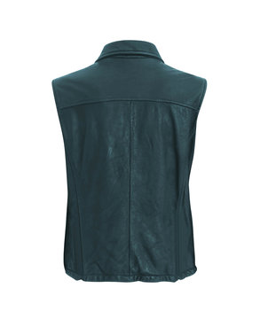 Vintage Leather biker jacket vest