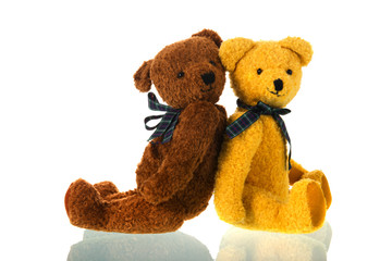 Stuffed toys bears Wall mural