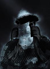 浮世絵 歌舞伎役者 その8 煙バージョン