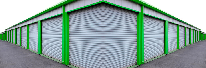 Storage Units with Sliding Doors