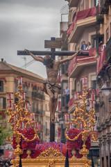 Fototapete - cristo de la hermandad de san Bernardo, semana santa de Sevilla