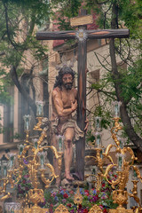 Fototapete - Varón de dolores, hermandad del sol, semana santa en sevilla