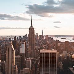 Photo sur Aluminium New York view of manhattan