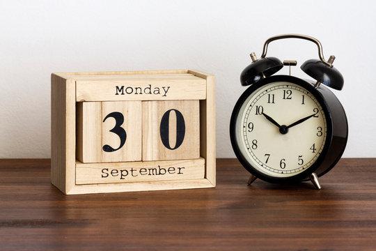 Monday 30 September