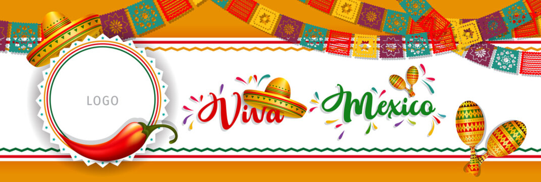 Mexico Independence Day (Viva Mexico).