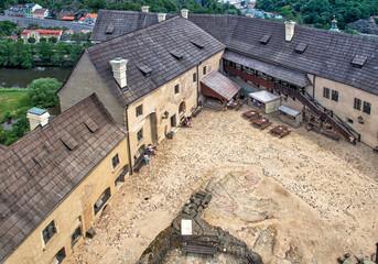 Burg Elbogen Hof in Loket