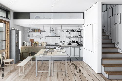 Küche: aus alt mach neu (Planen)\