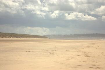 Printed roller blinds Desert beach and sea