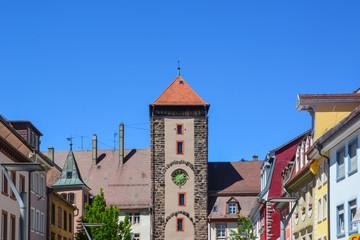 Oberes Tor in Villingen im Schwarzwald / Deutschland