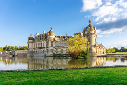 Domaine de Chantilly, a beautiful castle and chateau in Chantilly, France