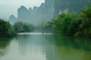 A famous scenic spot in southern China-Yangshuo Fotomurales