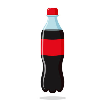 Cola soda in plastic bottles Drink to crave for a refreshing feeling.