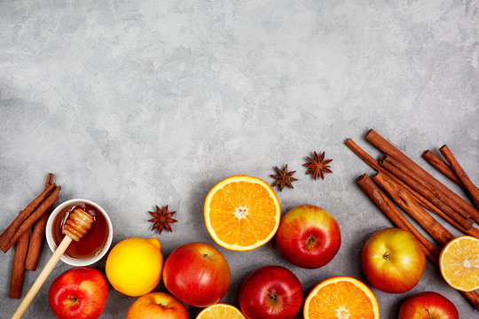 apples, oranges and spices