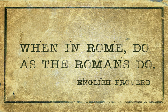 when in Rome EnP
