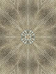 Acrylic Prints Jeans design. Jeans kaleidoscopic pattern.