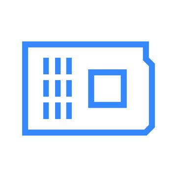 mcu development board icon