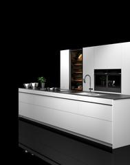 Küche, Einbauküche, Küchenzeile, modern