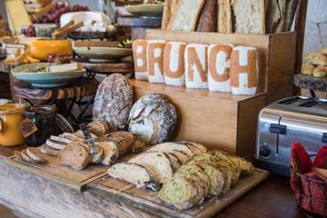 Bread Station, Brunch
