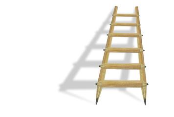 education school pencils ladder shadow
