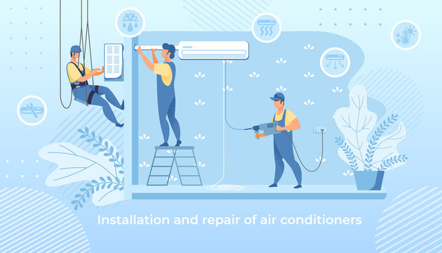Handy Men Installation and Repair Air Conditioner