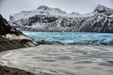 Wall Mural - Iceland glacier