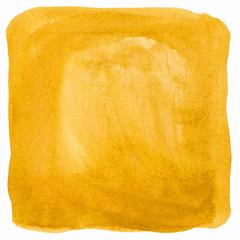 Gelbe Wasserfarbe als Hintergrund Textur