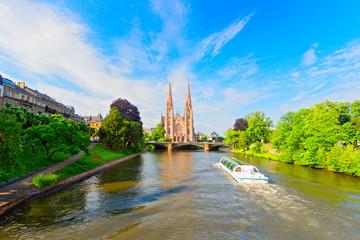 Paulskirche in Straßburg,  Frankreich