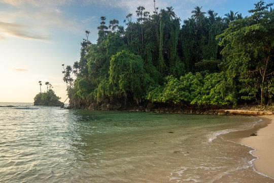 The beach in Papua New Guinea