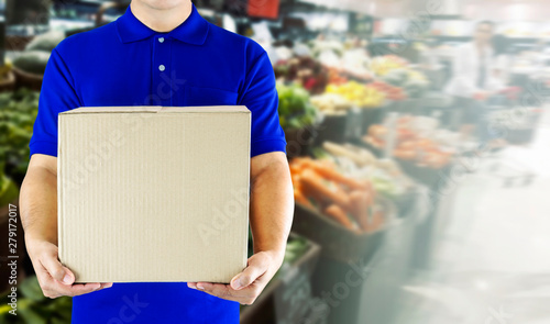 Food delivery service for order online grocery shopping