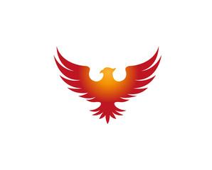 Creative Pheonix Logo Design Vector Symbol Illustration