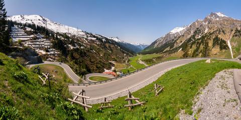 Arlbergpass, Arlberg, Österreich