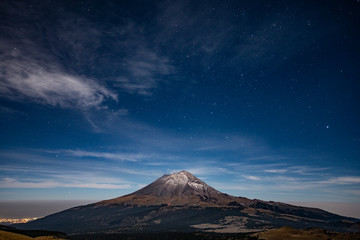 Obraz Iztaccihuatl mexico volcano - fototapety do salonu