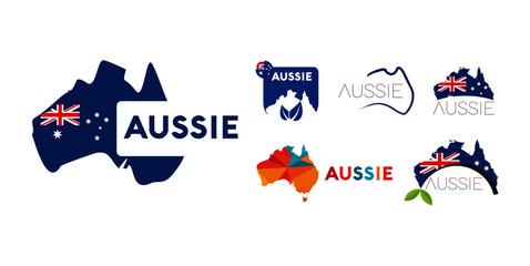 Australia Aussie Logo Pack