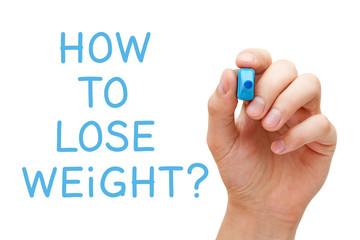 How To Lose Weight Handwritten Question