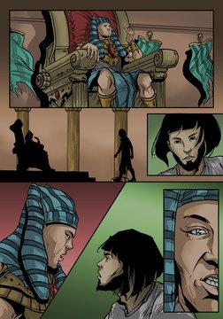 The Pharaoh Speaks To Joseph