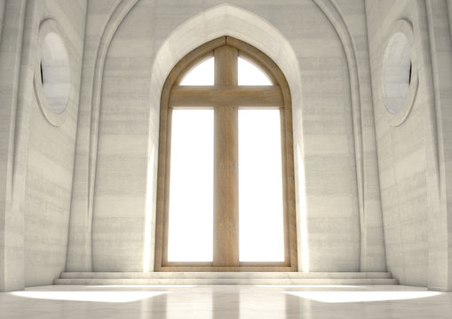 Decorative Church Window