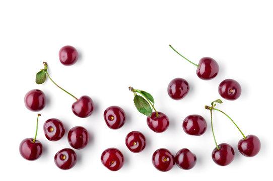 fresh cherries pattern