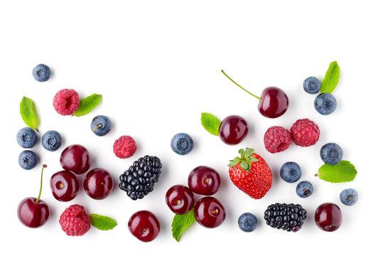 fresh berries pattern
