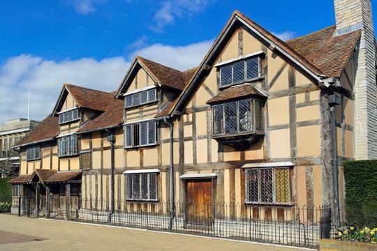 Shakespeare's birthplace , Stratford upon Avon, Watwickshire, UK
