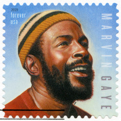 USA - 2019: shows Marvin Gaye Pentz Gay (1939-1984), American singer, songwriter, Music icons