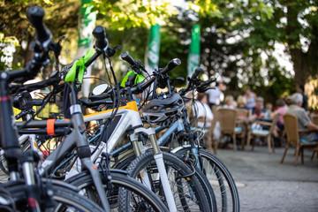 Fahrräder Stadtradeln