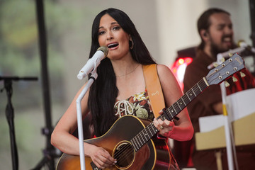 Singer Kacey Musgraves performs on NBC's 'Today' show in New York