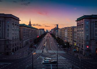 Warszawa - ul. Marszałkowska