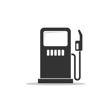 Gas Station Icon Logo Template Illustration Design. Vector EPS 10.