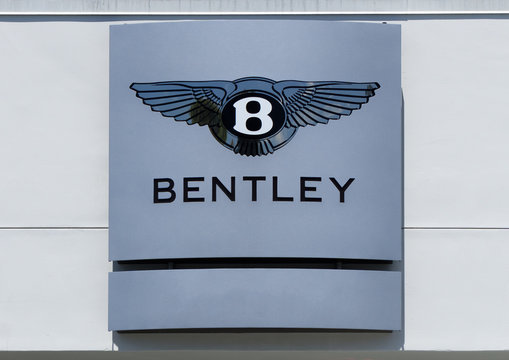 Bentley Automobile Log and Marquee