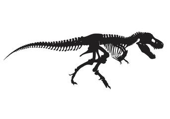T-rex vector skeleton