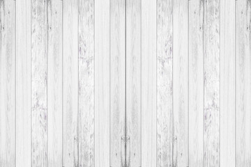 Close-up of white wood pattern and texture for background. Rustic wooden vertical